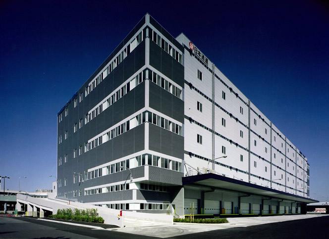 京浜トラックターミナル15号棟:日立建設設計